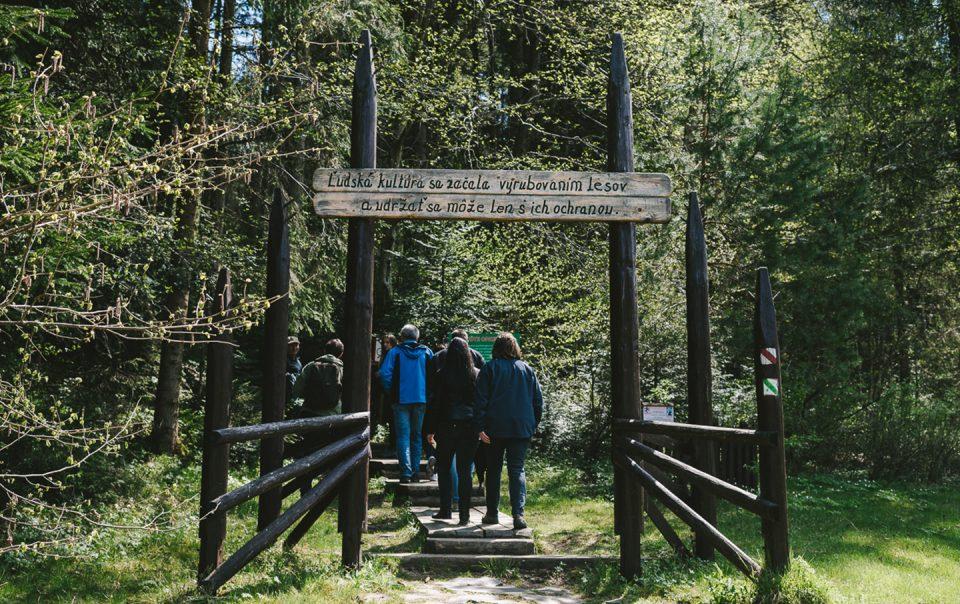 Lesnícky skanzen vo Vydrovskej doline